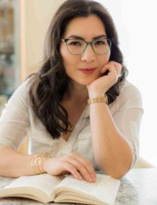 Elyse-Nakajima-reading-Enneagram-book